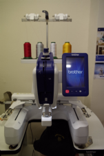 Training for the Brother VR embroidery machine